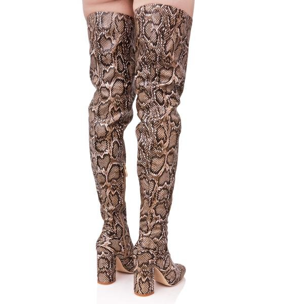 Viper Vixen Thigh-High Boots