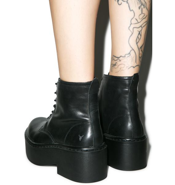 Windsor Smith Lazerr Lace Up Boots