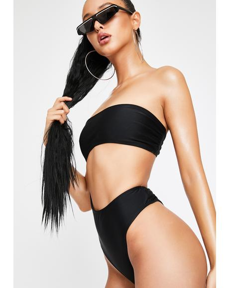 U Could Never Strapless Monokini