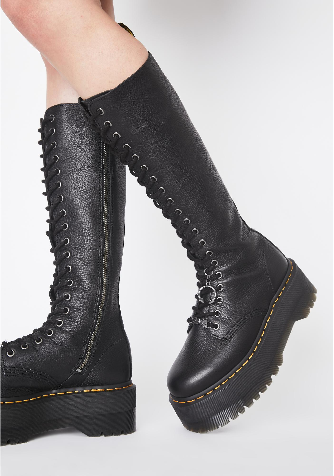 look for new appearance top fashion X Dolls Kill 1B60 Max Boots