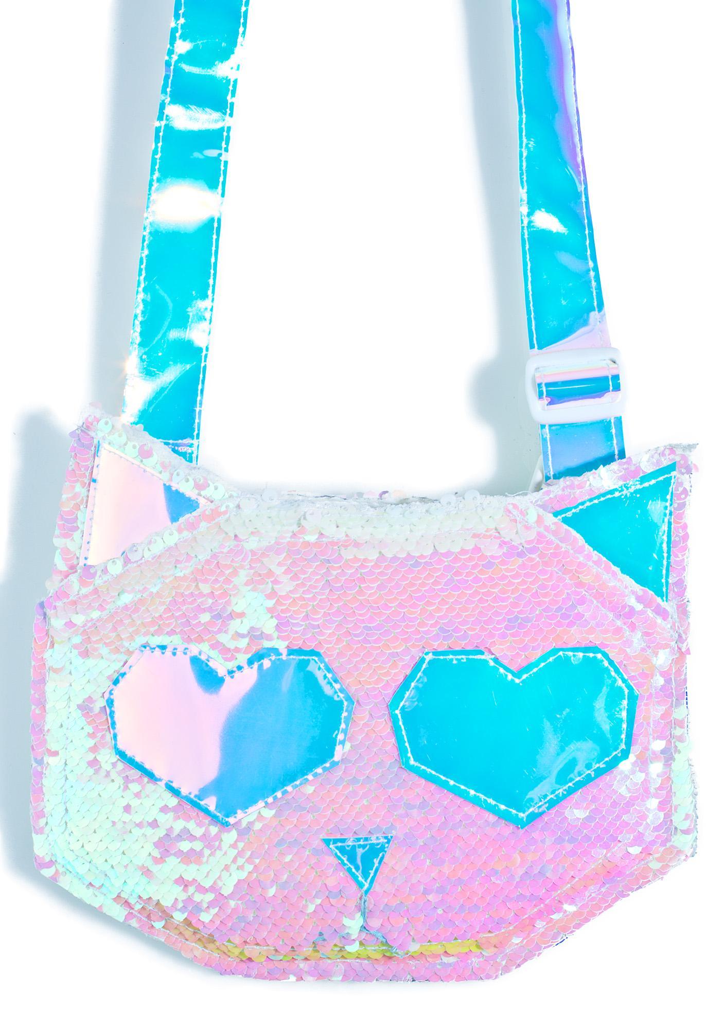 ESQAPE Feline Sequin Bag