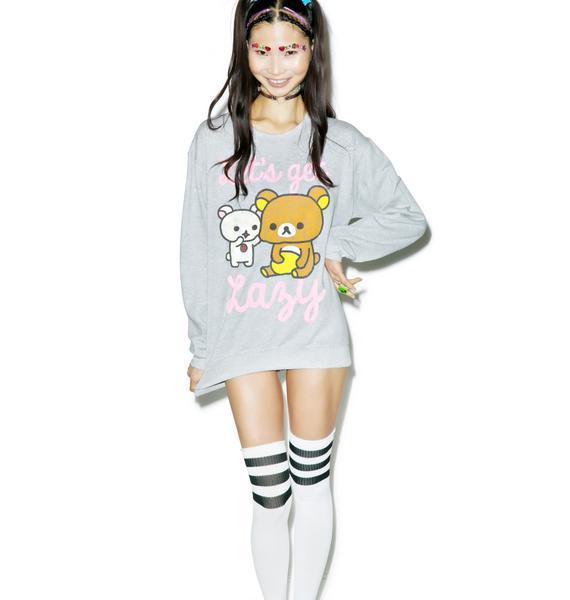 Rilakkuma Let's Get Lazy Sweatshirt