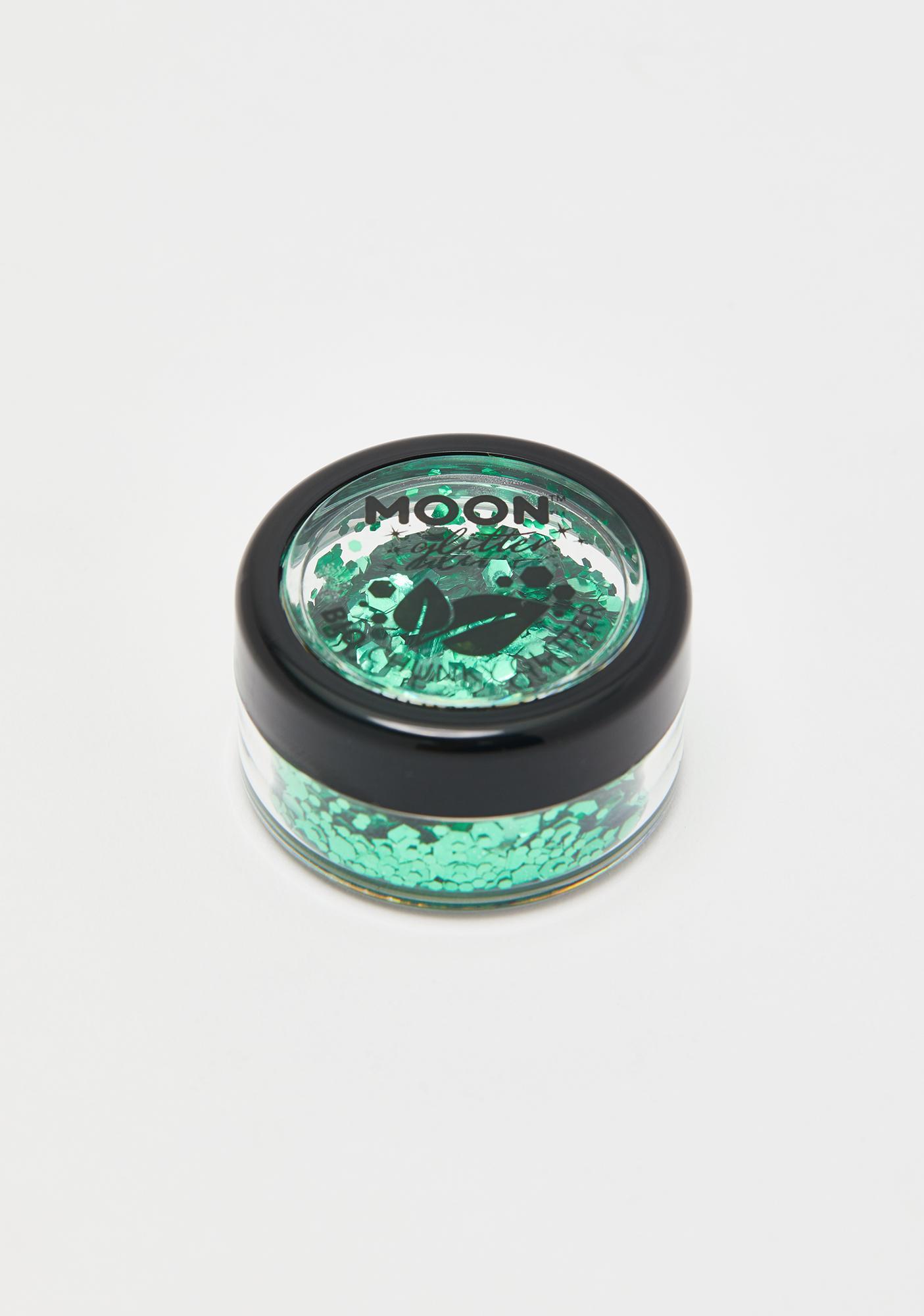 Moon Creations Emerald Bio Chunky Glitter