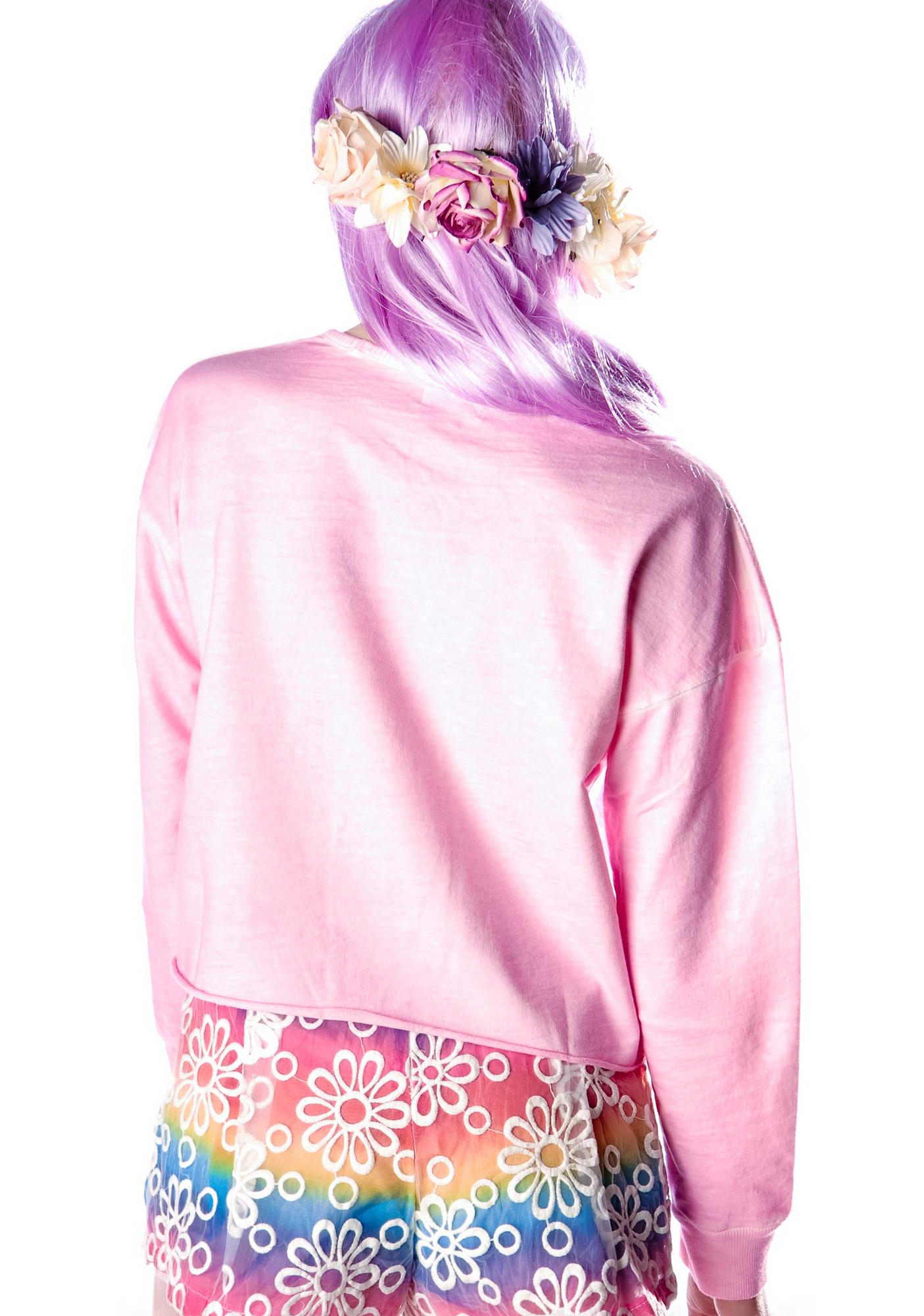 Barbae Crop Sweatshirt
