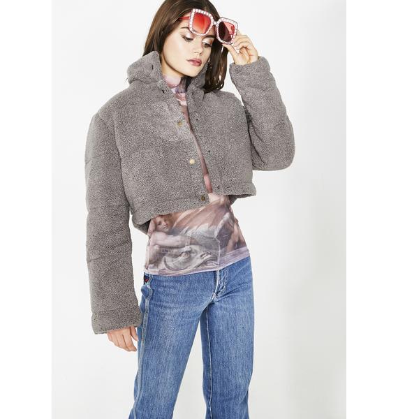Puff Zaddy Cropped Jacket