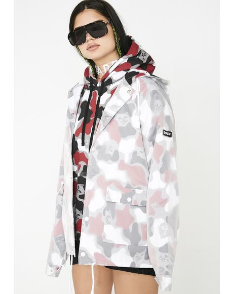Nerm Psycho Clear Raincoat Jacket