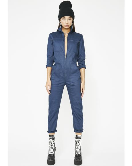 Fly Girl Cargo Jumpsuit
