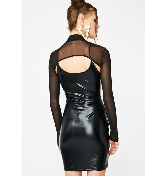 Hot Date Shrug N Mini Dress