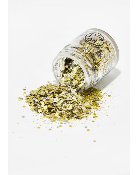 Champagne Mix Extra Chunky Bio Glitter