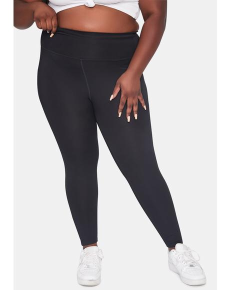 Lil Noir Complex Flex Sporty Leggings
