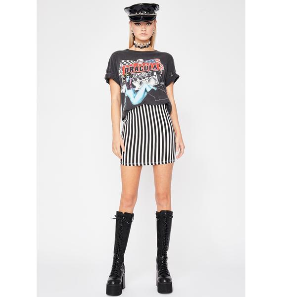 Fallen Prey Mini Skirt