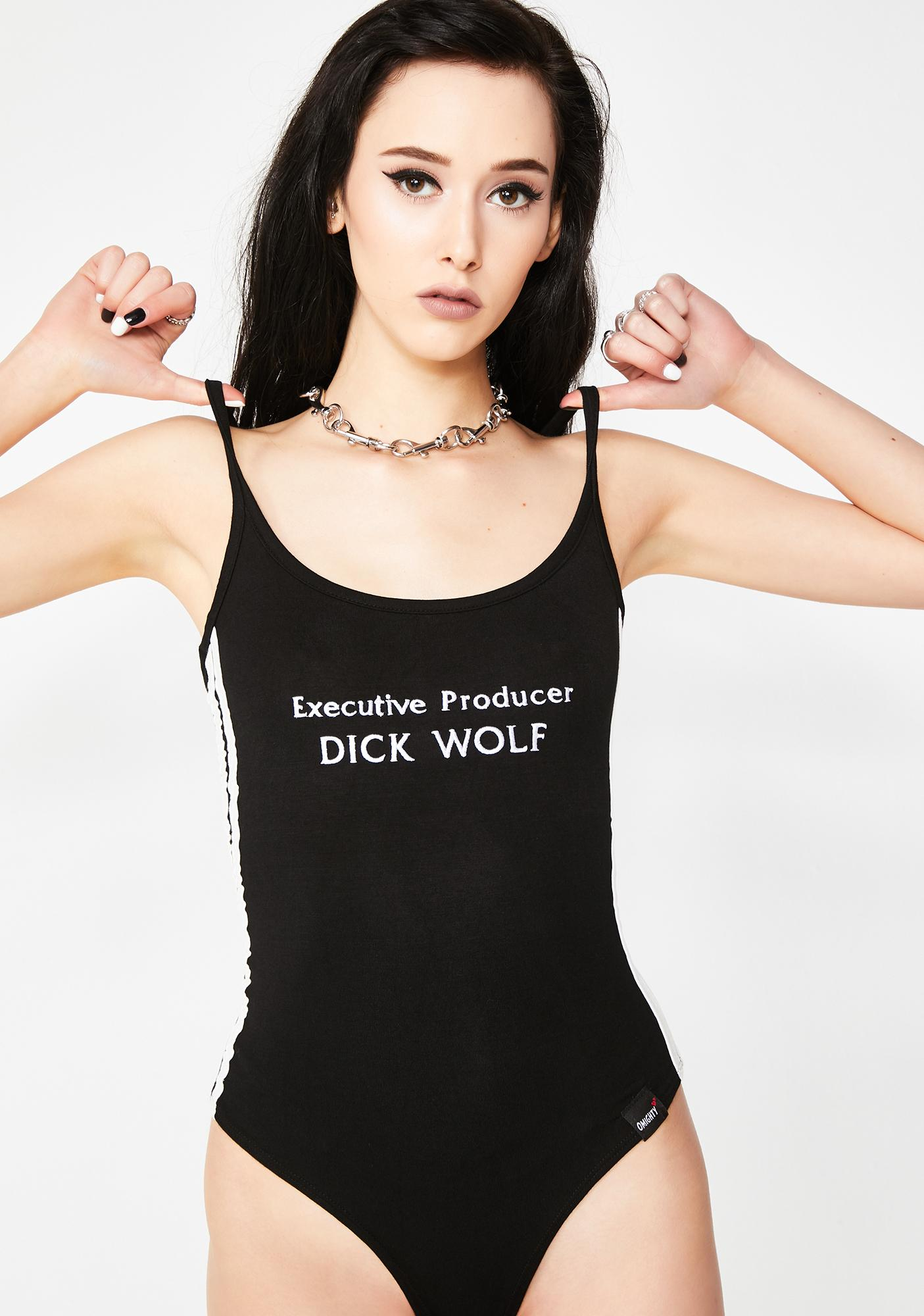 O Mighty Dick Wolf Bodysuit