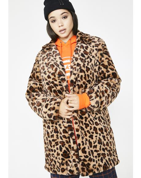 Bad Ole Putty Leopard Coat