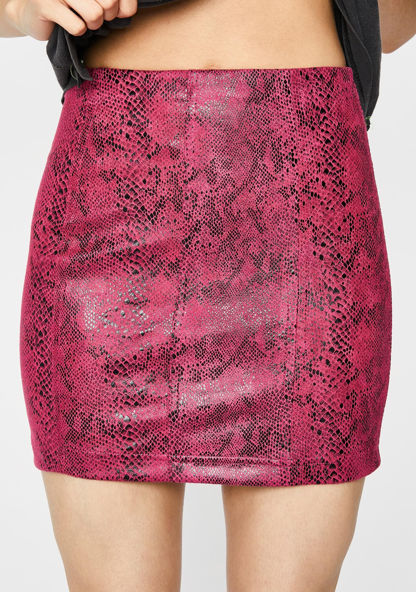Pretty Dry Poison Mini Skirt