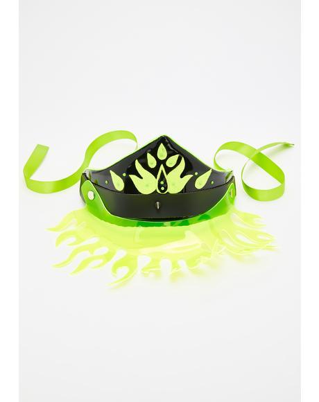 Neon Fiyah Headpiece