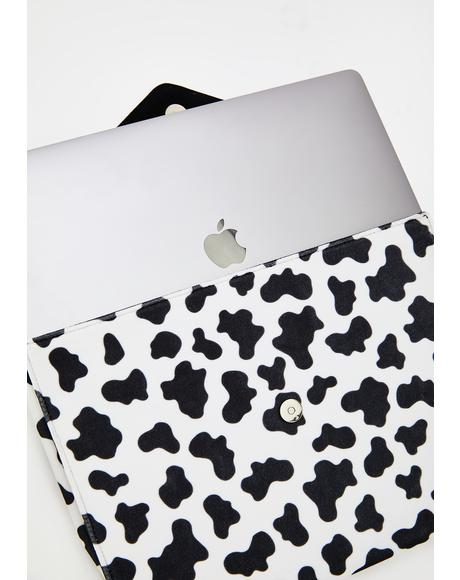 Moo Moo Clutch Laptop Bag