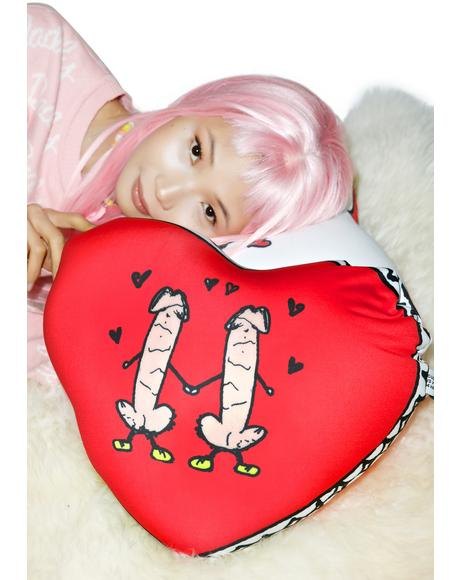 Gay Love Pillow