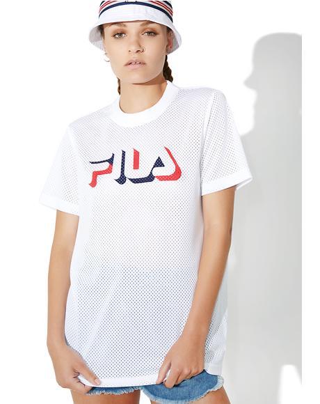 Liona Mesh T-Shirt