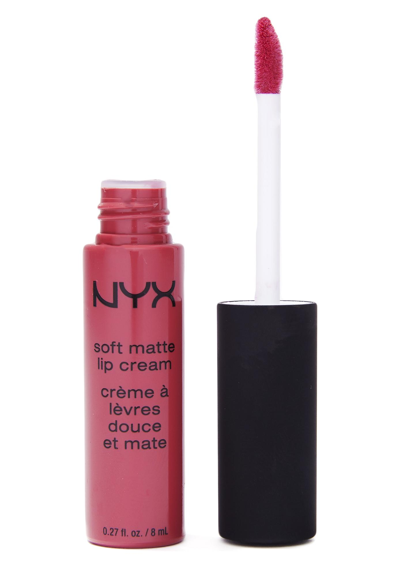 NYX Sao Paolo Soft Matte Lip Cream