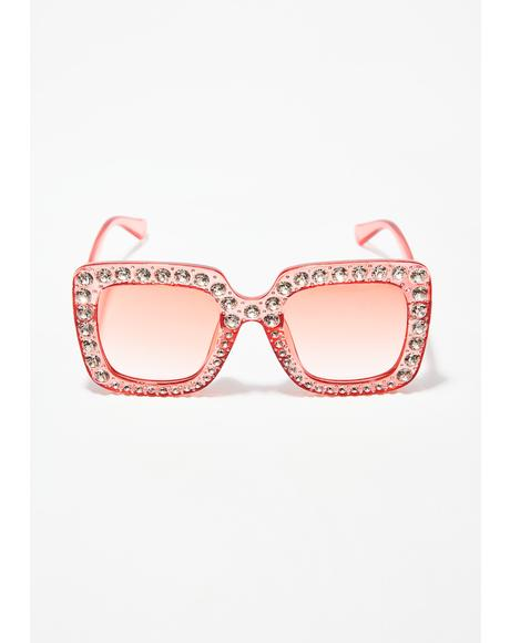 Bubblegum Feelin Flossy Sunglasses