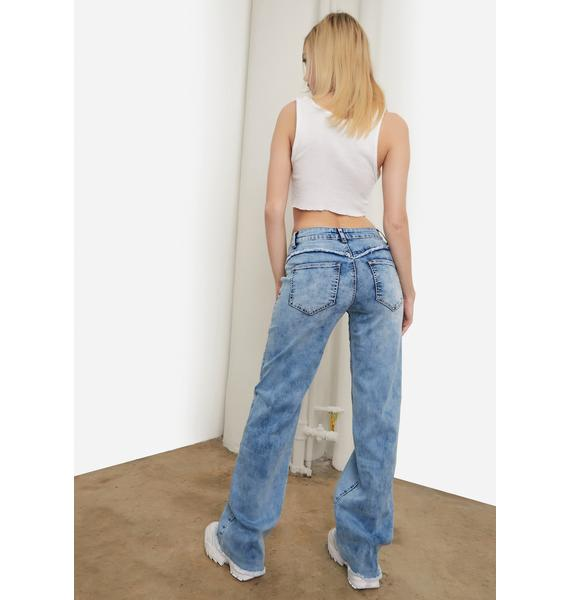 Payback Acid Wash Jeans