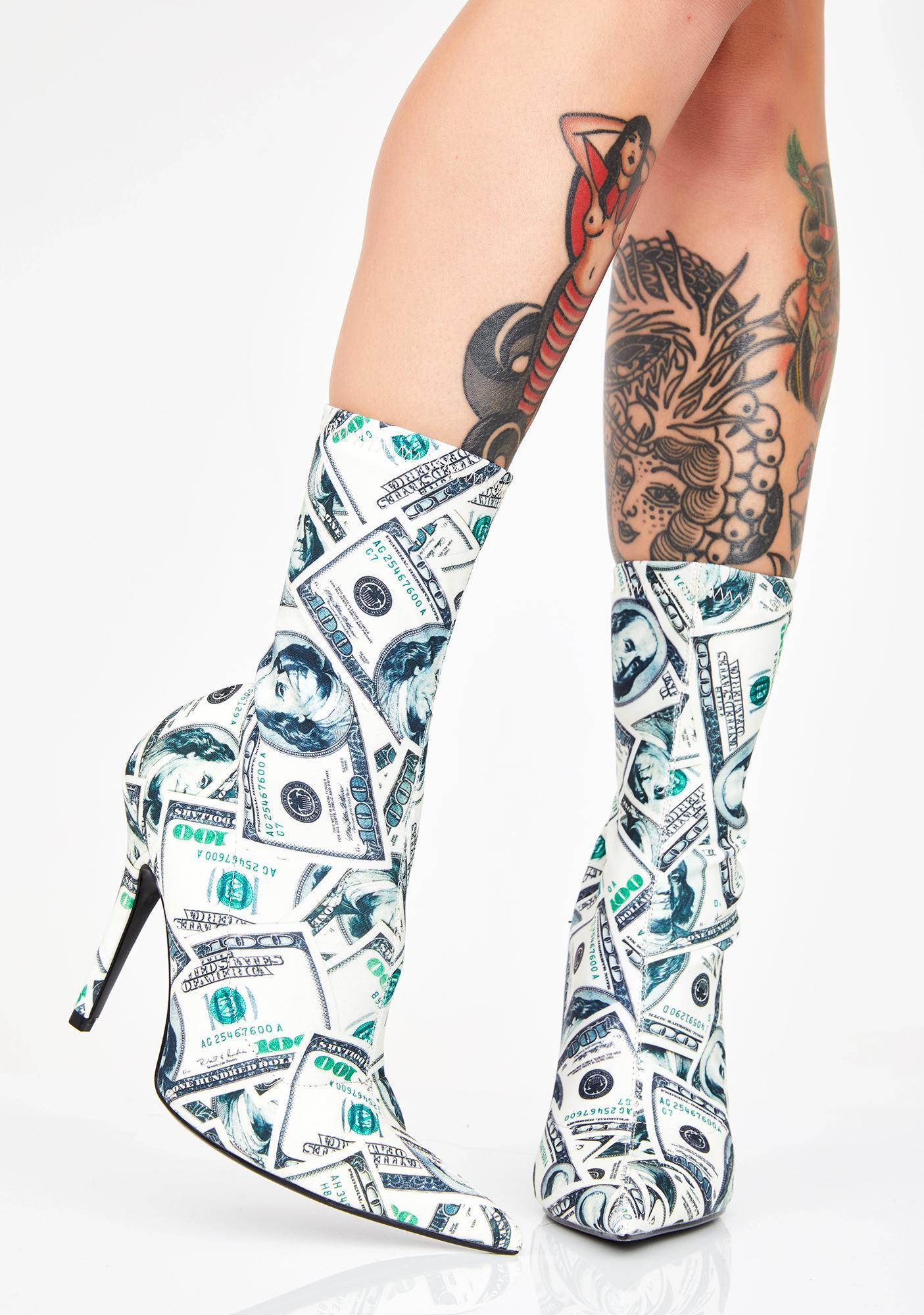 Mother Of Millions Sock Booties