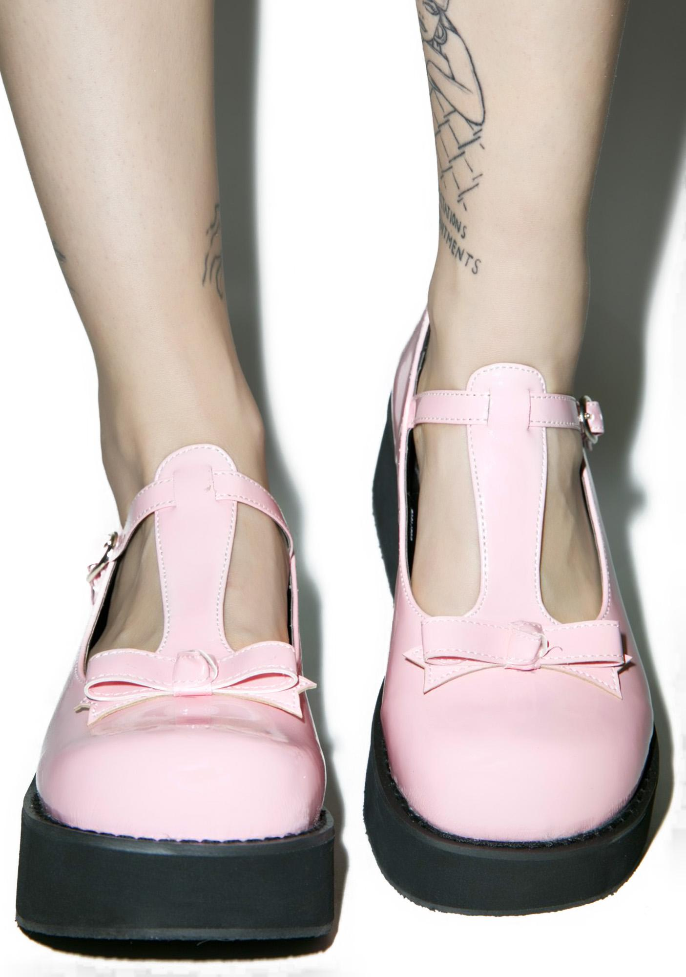Demonia Sugar High Flatforms
