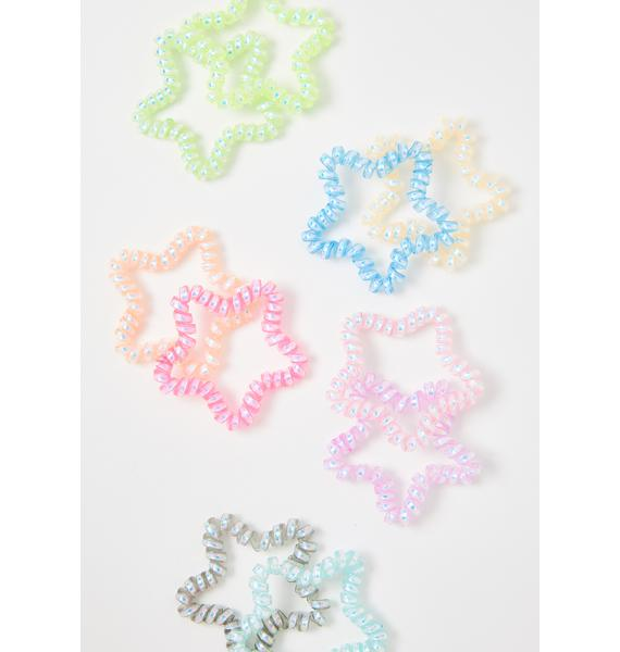 Starry Delight Coil Hair Ties