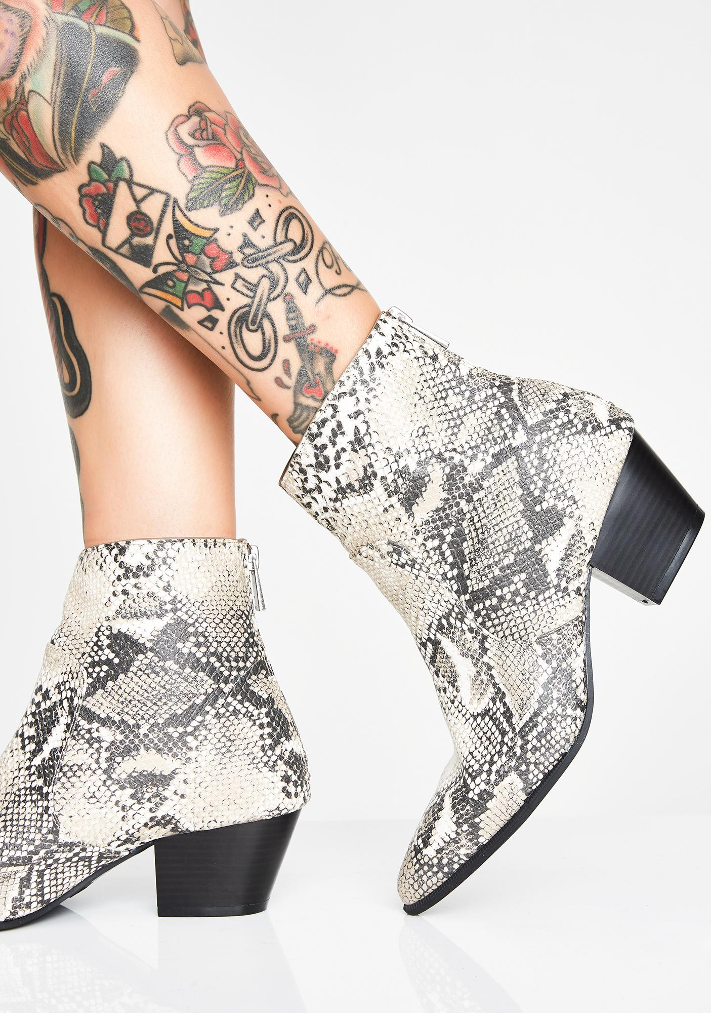 a145ce00355e6 Poisoned Coven House Ankle Booties