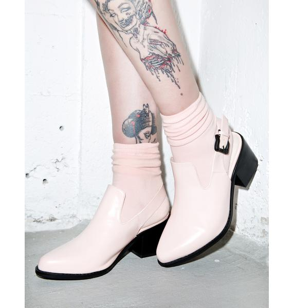 Intentionally Blank Pills Slingback Heels