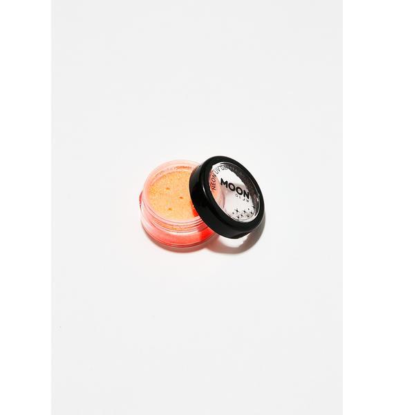 Moon Creations Neon Orange UV Glitter Shaker