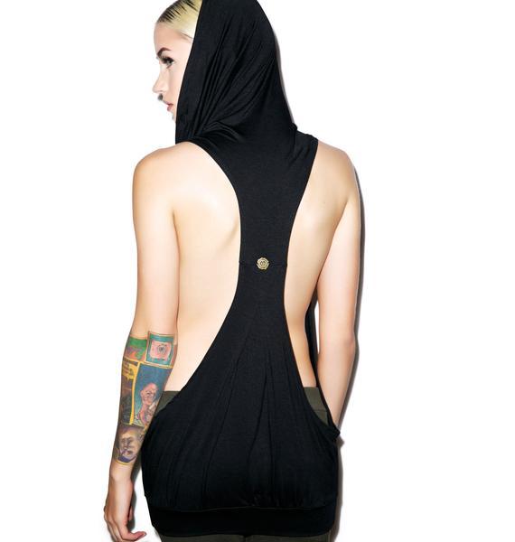Athena Hooded Blouse