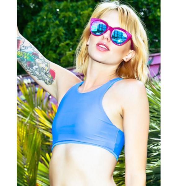 Mink Pink HalfMoon Magic Sunglasses