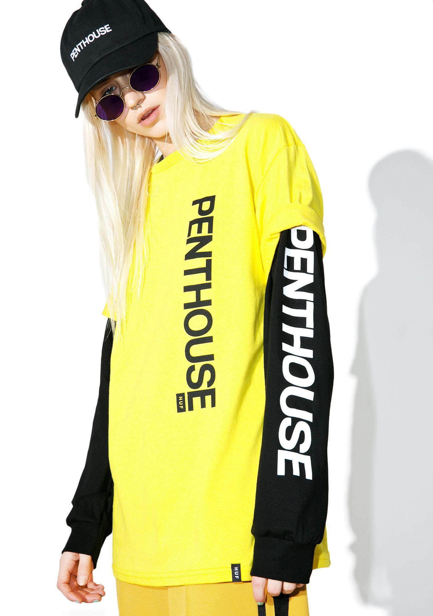 HUF Penthouse Rose Tee