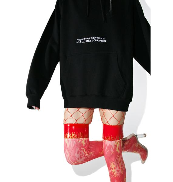 Current Mood Challenge Corruption Hoodie