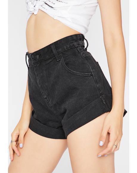 Rockin' Time Cuffed Shorts