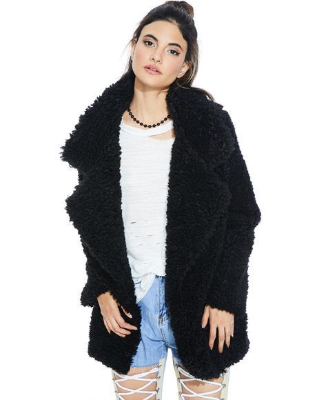 Soo Deluxe Fuzzy Jacket