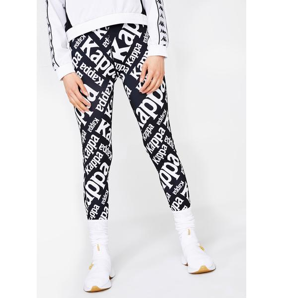 Kappa Authentic Bima Graphic Leggings