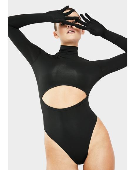 Uniform Gloves Bodysuit