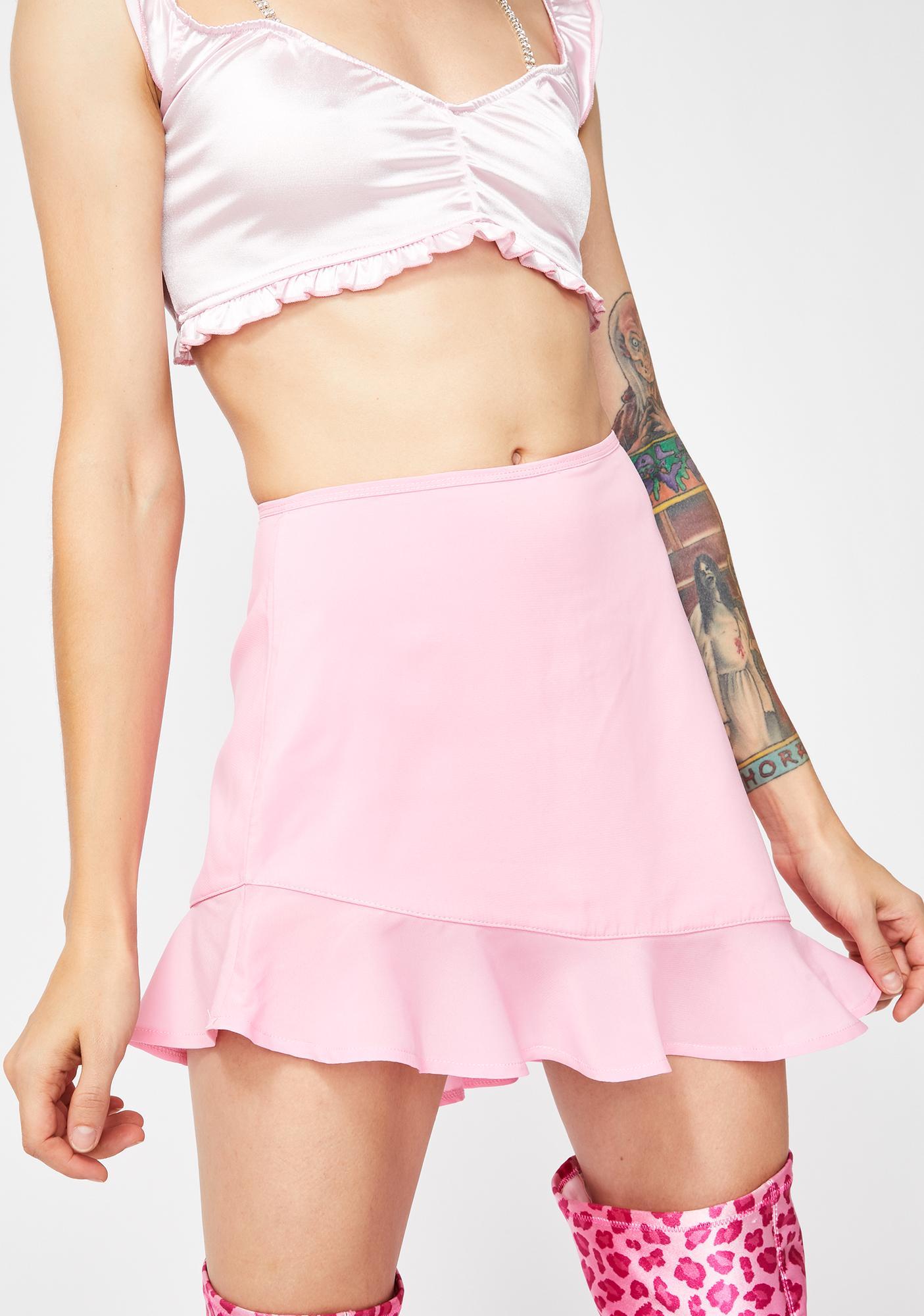 Sugar Thrillz Baby Penthouse Hottie Mini Skirt