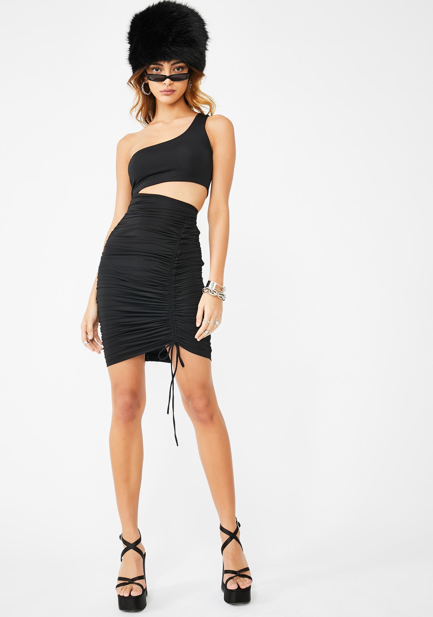 Kiki Riki Baddie Intentions Bodycon Dress