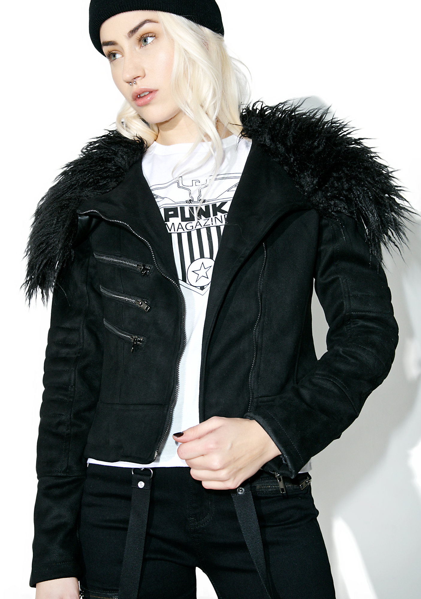Killstar Selene Biker Jacket