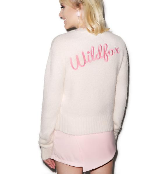 Wildfox Couture Fun Fox High Waisted Cardigan