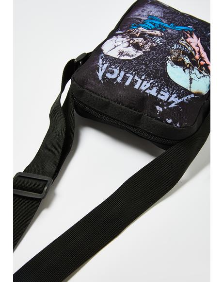 Metallica Sad But True Crossbody Bag