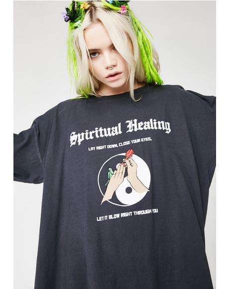 Spiritual Healing Long Sleeve Tee