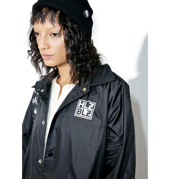 HLZBLZ Fuck Bois Coaches Jacket