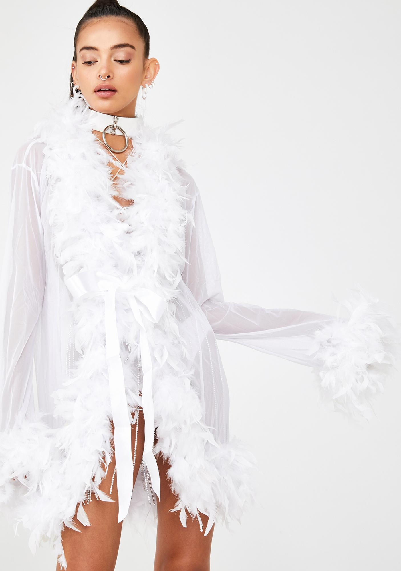 Angel No Presha Feather Robe