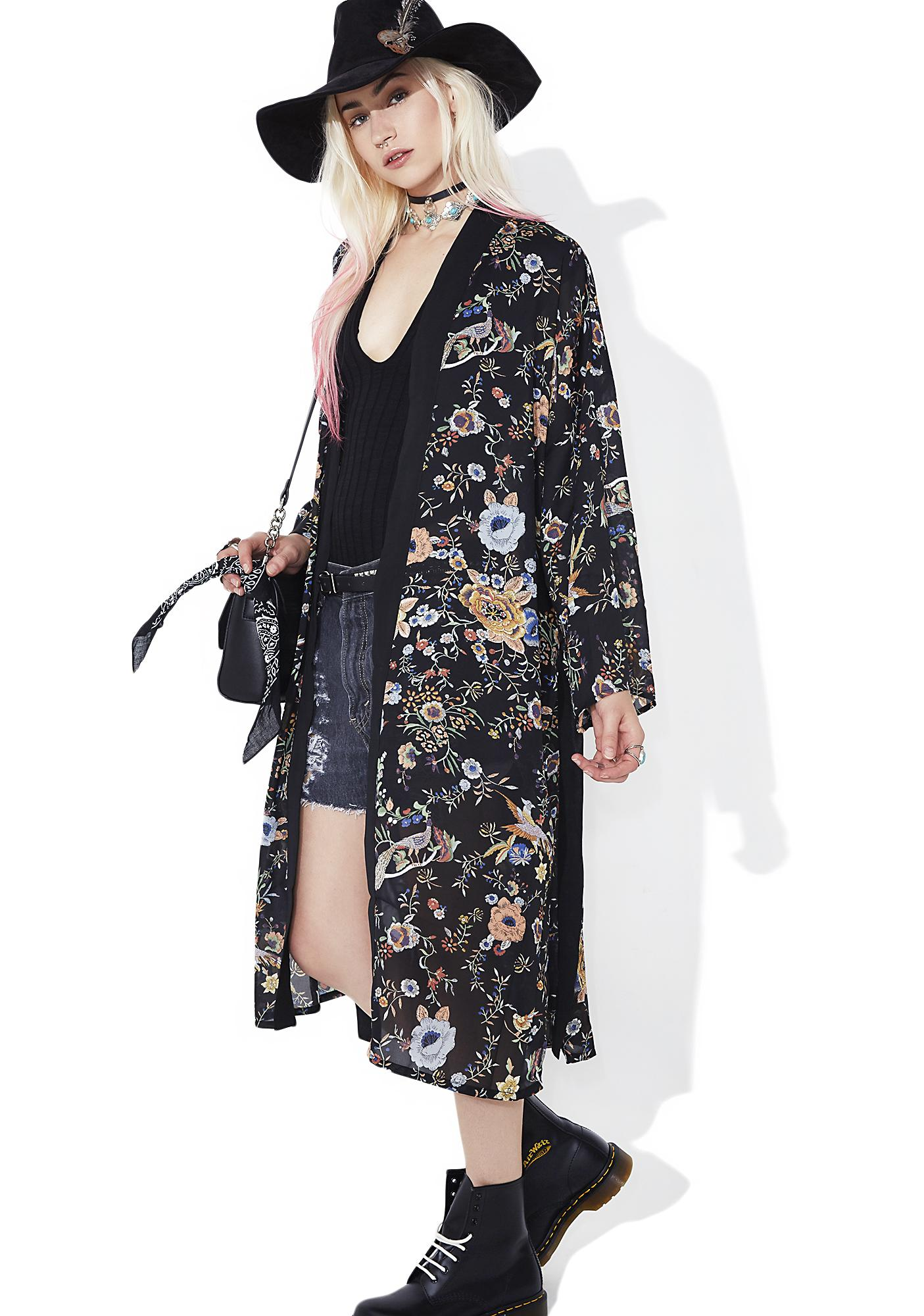 Fields Of Glory Kimono