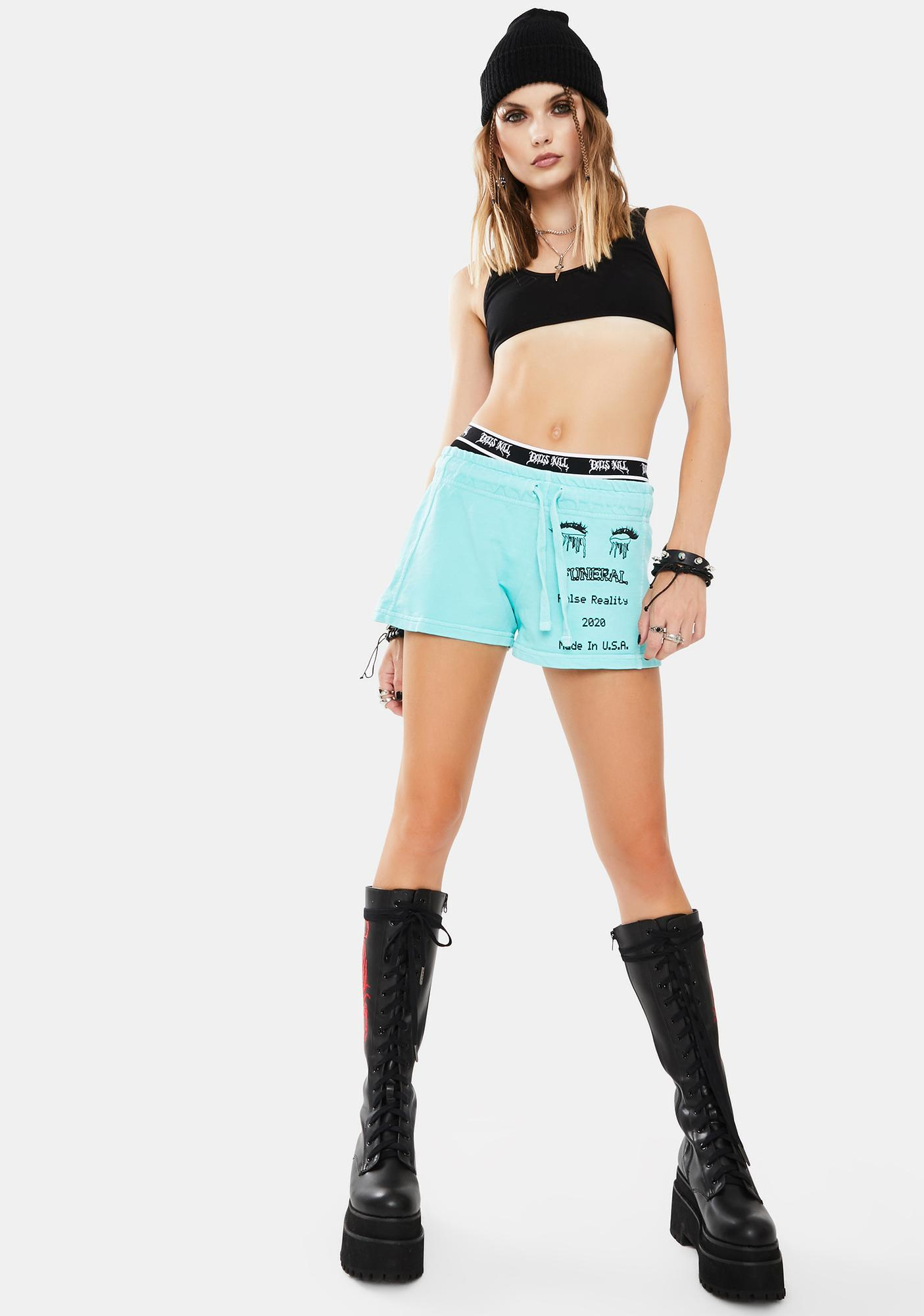 Funeral Mint 2020 Lounge Shorts