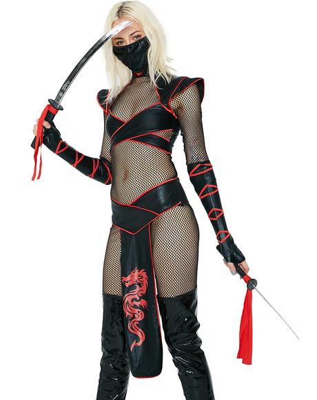 Alluring Assassin Costume Set